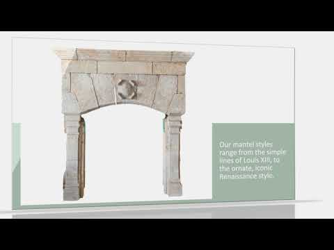 Antique French Fireplace Mantels by Authentic Provence