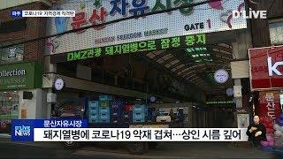 '코로나19' 관광업계·전통시장 직격탄(서울경기케이블T…
