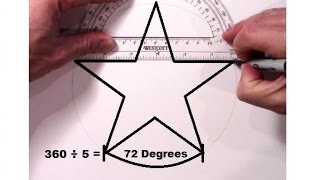 How to Draw a Perfect 5 Point Star