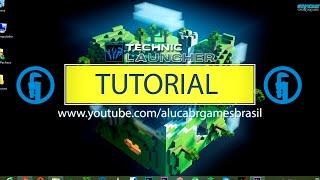 Tutorial - baixar, instalar e usar Technic Launcher para Minecraft