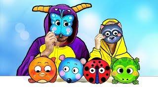 Aprenda Granja Animales Nombre y Sonido para niños - Video educativo de aprendizaje para niños Bebés