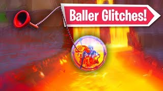 4 Fortnite Baller Glitches! (Season 8 Glitches)