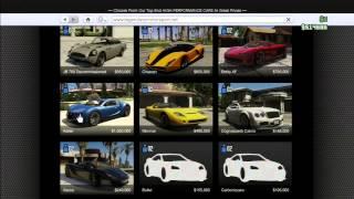 GTA Online: Comment avoir toutes les voitures GRATUITEMENT! Glitch 1.07 - PS3 HD Français - xRK