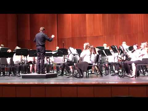 St Clair Middle School 8th Grade Band Workshop Performance Song #3