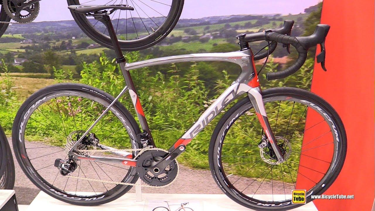 b18190d41db 2017 Ridley Fenix SL Disk Road Bike - Walkaround - 2016 Eurobike ...