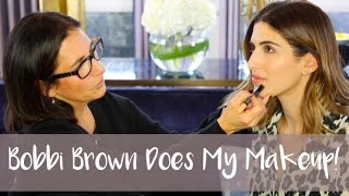 BOBBI BROWN DOES MY MAKEUP! | AD | Lily Pebbles