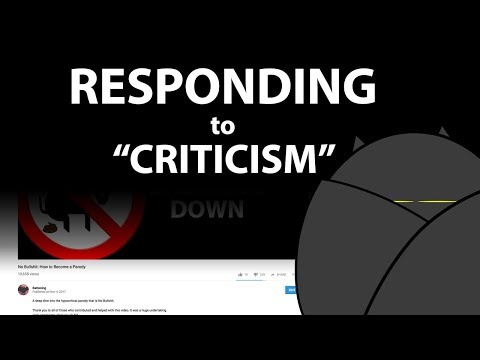 Responding to Criticism from my No Bullshit Video