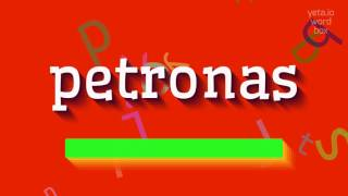 """How to say """"petronas""""! (High Quality Voices)"""