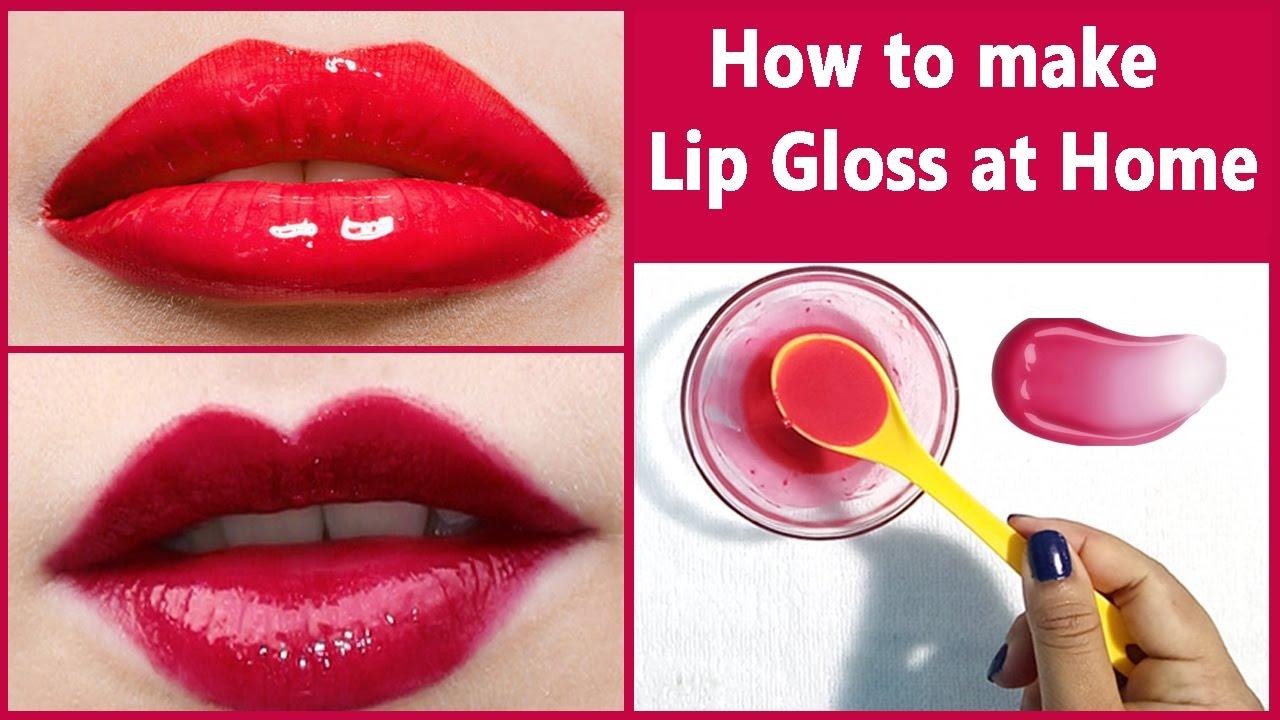How to make lip gloss