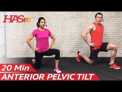 How to Fix Anterior Pelvic Tilt: 20 Min Hyperlordosis Correction Exercises