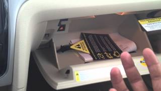Here is how to fix a Passat trunk that wont open.