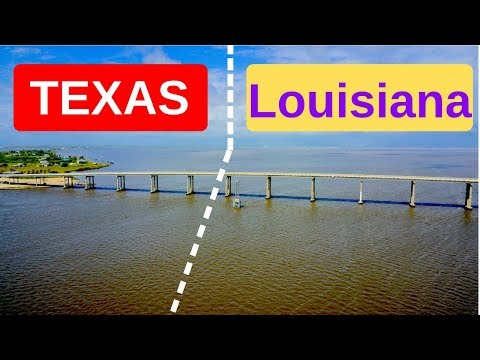 KAYAK Crossing State Lines- From TEXAS To LOUISIANA To Catch Fish