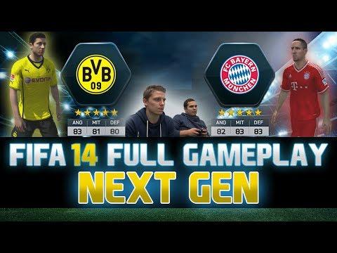 Fifa 14 | FULL Next Gen Gameplay | Borussia Dortmund vs. Bayern München | by PatrickHDxGaming
