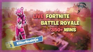 Fortnite: Battle Royale | 380 WINS | Battlepass Giveaway | KillerNoahtje [PS4] [NL]