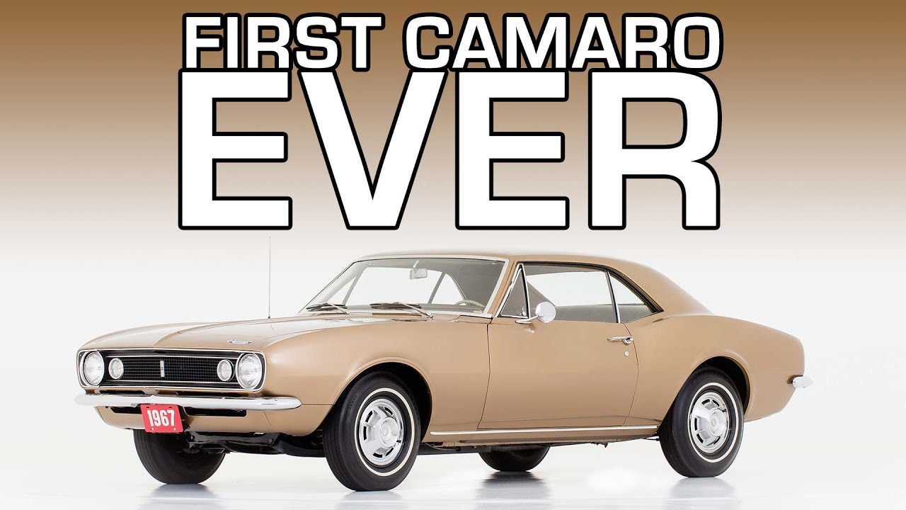 The First Camaro Ever and The Teenager Who Found It - Autoline After ...