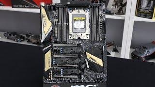 MSI X399 Carbon Threadripper TR4 Motherboard