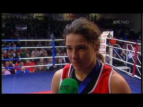 Katie Taylor interview - National Elite Boxing Championship Finals