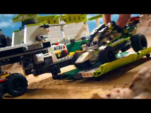 Lego World Racers - Desert Of Destruction - Commercial