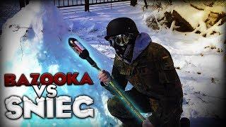 Eksperyment - Bazooka VS Śnieg !!!