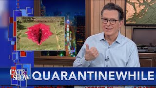 Quarantinewhile... Giant Brazilian Vagina Sculpture Sparks Controversy