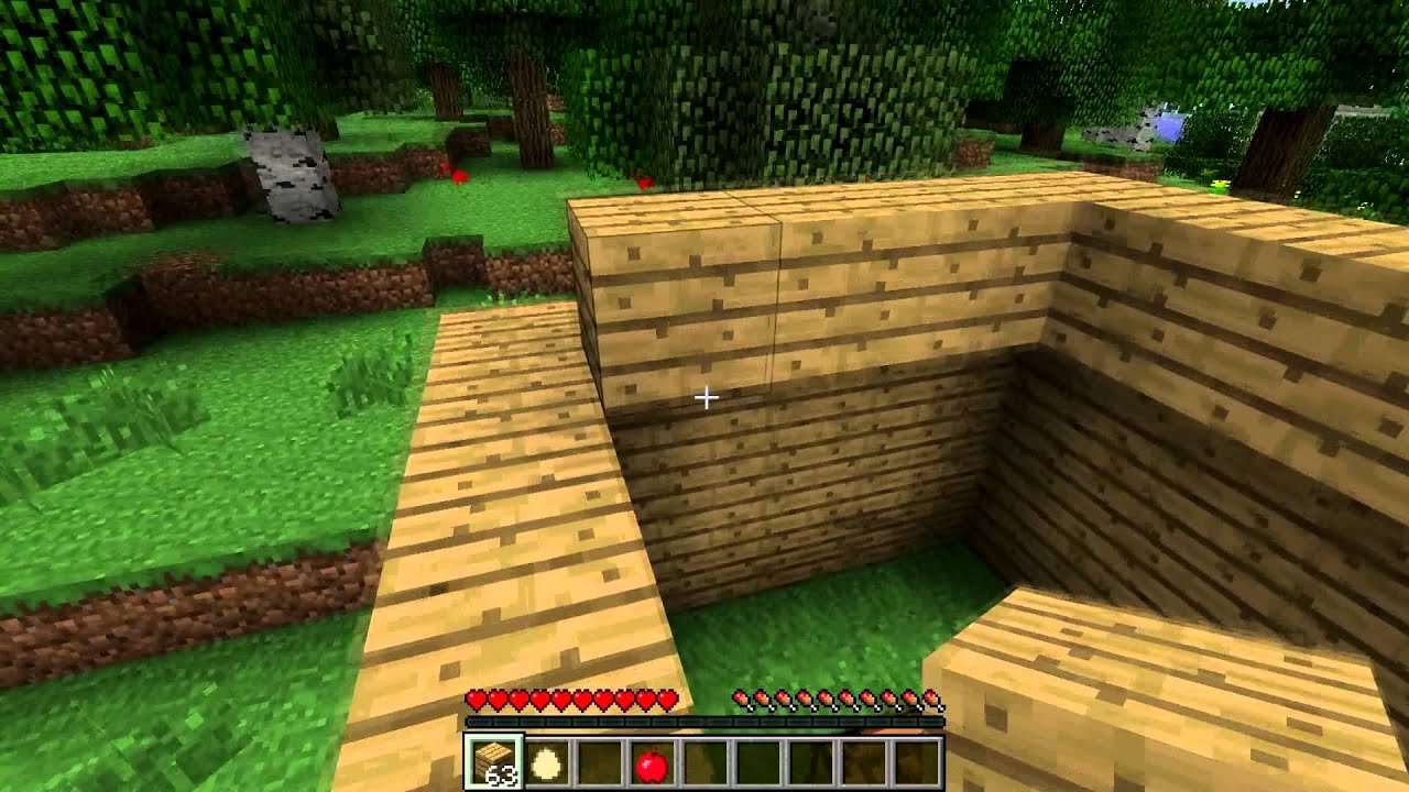 Wir Spielen Minecraft Der Beginn YouTube - Minecraft spielen wie