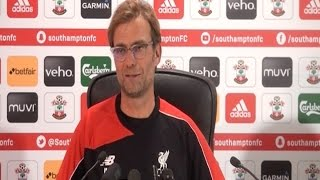 Southampton 1-6 Liverpool - Jurgen Klopp