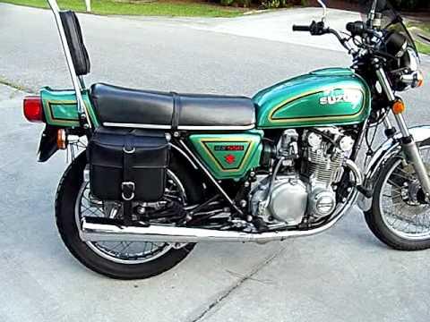 Suzuki GS550 1978 - YouTube