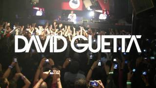 AMAZING SHOW David Guetta live concert with Will.i.am at Club Glow Washington DC February 2010