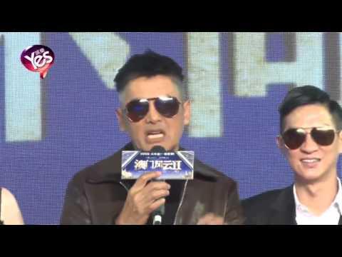 Chow Yun Fat 2015 still going strong