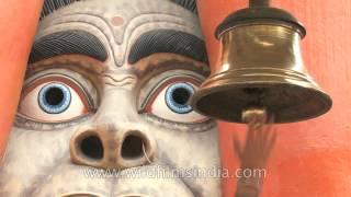 Unique sculpture and devotion - Giant Hanuman temple in Delhi