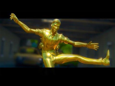 Midas Golden Agent - Springy  Fortnite