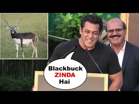 Salman Khan's FUNNY Reaction On His Blackbuck/Deer Case At Tiger Zinda Hai Promotions