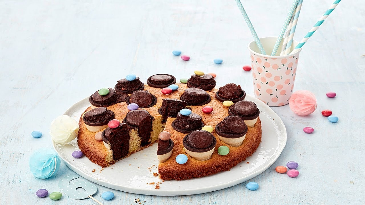 Rezept Kinder Party Kuchen Von Dr Oetker Youtube