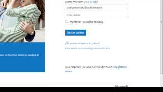 Cómo ingresar al correo Outlook.com