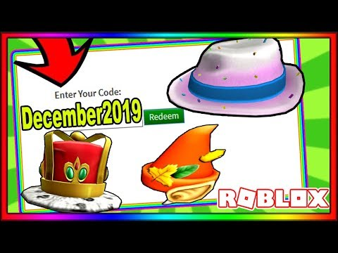 ALL *NEW* DECEMBER 2019 ROBLOX PROMO CODES! | NOT EXPIRED