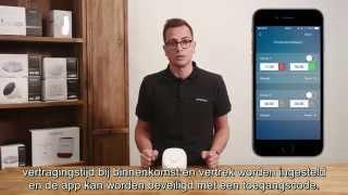 smanos W020 WiFi Alarmsysteem - Installatie (NL ondertiteld)