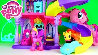 My Little Pony Rainbow Power Friendship Rainbow Kingdom Playset Fun Toy Review With Twilight Sparkle
