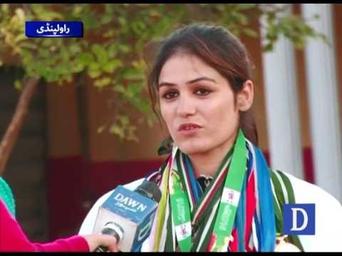 Brave Karate Girl from Rawalpindi