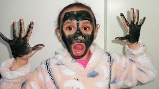 مريومة وجهي ويدي سوداء my face and my hands are black !!!
