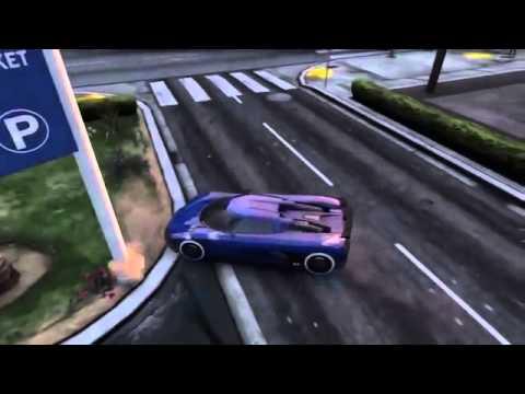 GTA 5 : Khi các gamer lái siêu xe