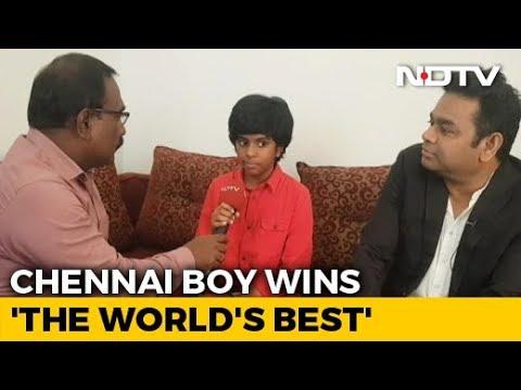 AR Rahman Felicitates Chennai's Piano Prodigy Lydian Nadhaswaram