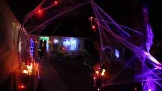 My 2013 Halloween Display.  Santee, California