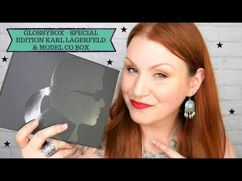Karl Lagerfeld + Model Co Special Limited Edition Glossybox May 2018