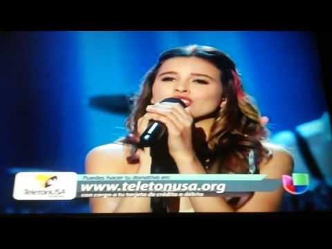 Paulina Goto - Llevame Despacio - Teleton Usa 2014