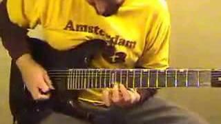 soupbone guitar solo on 7 string esp