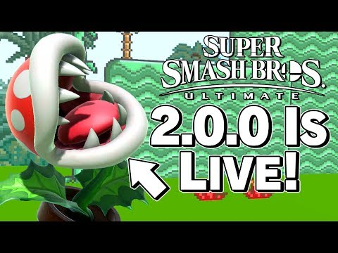 Smash Ultimate 2.0.0 OFFICIALLY LIVE! Patch Notes Discussion - Super Smash Bros. – Aaronitmar thumbnail
