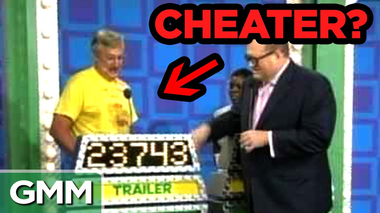 Amazing Game Show Cheaters #1