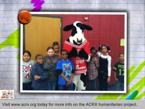 Irondale Community School Receive Tribute & Free Medicine Help by Charles Myrick of ACRX