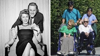 Kirk Dougles, 101, and wife Anne Buydens, 99, are still inseparable after 64 years of marriage