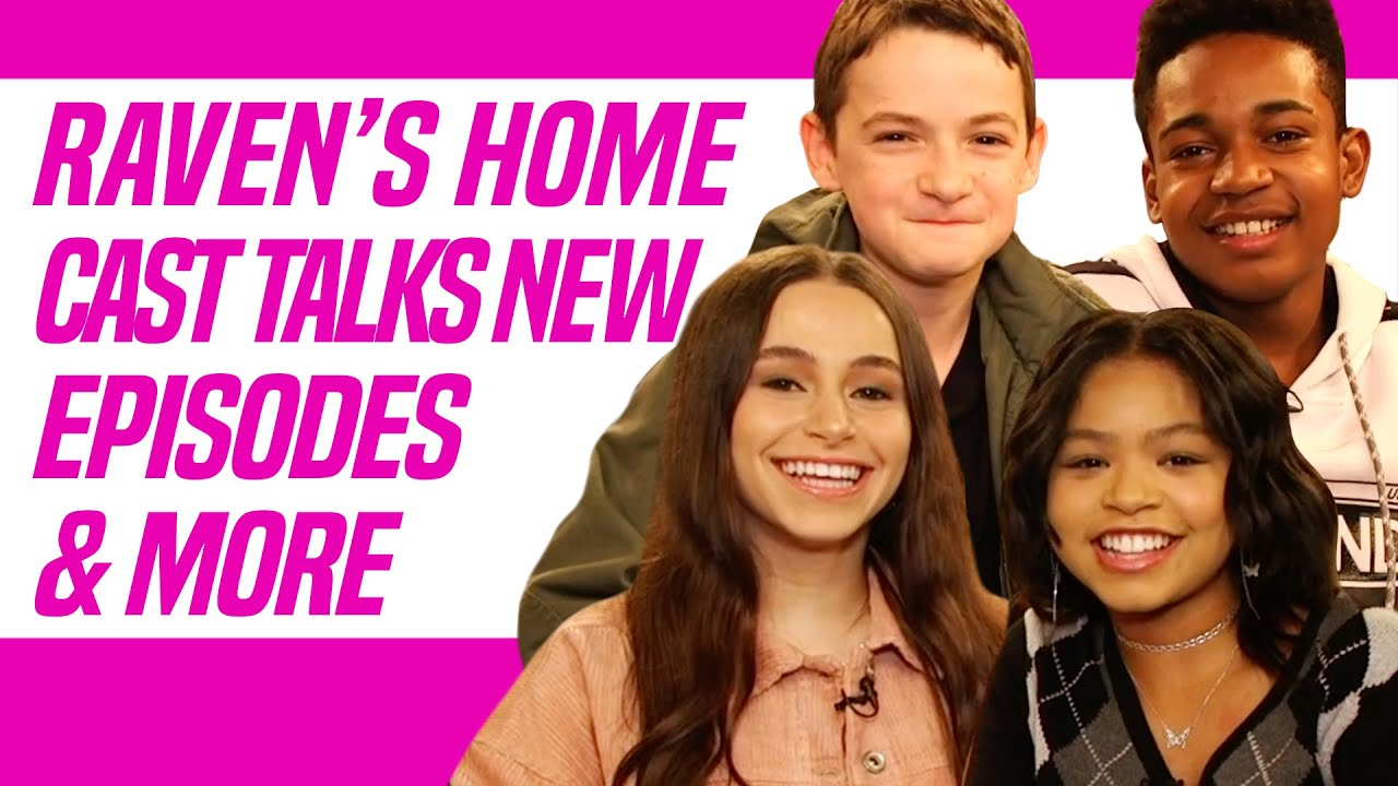 Raven's Home Cast Talks Funny Moments on Set and Upcoming Episodes ...